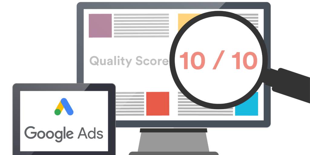 google quality score featured